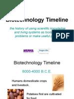 Unit1 Biotechnology Timeline