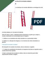 Procedimentos para Trabalhos Em Escadas