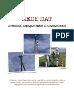 Rede DAT-Espaçamentos e Afastamentos