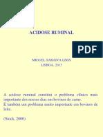 3. Acidose Ruminal - Saraiva Lima