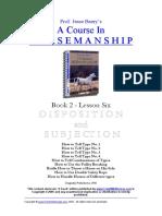 Horsemanship Course 2