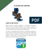Los Stock de Capital