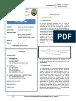Resumen Ejecutivo Trabajo de Investigacion ACUEDUCTOS