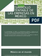 Desarrollo Sustentable de Las Empresas en México
