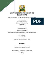 Trabajo Individual 2 Parcial Ecologia-sostenibilidad-sustentabilidad-diferencias-mario Fierro