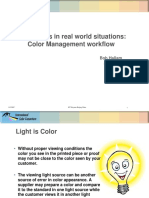 Color Management Workflow