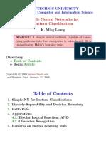 Simple Nn Classification