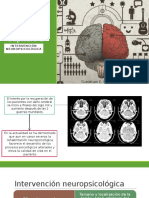 Intervención neuropsicologica