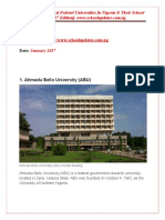 The Top 17 Cheapest Federal Universities in Nigeria & Their School Fees [2017 Edition]- www.schoolupdates.com.ng