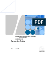 Customize Guide for NE80E V600R003C00 Version Upgrade