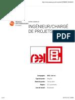 RéseauIQ - Ingénieur:Chargé de projets