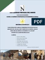 Caracterizacion Geomecanica de La Cantera Juan Sin Miedo - Mr II