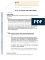 2003 for Better or for Worse the Effects of Alcohol Use on Marital