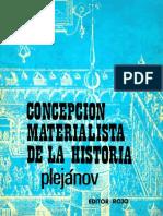 Plejanov-concepcionmaterialista