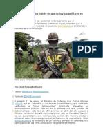 Paramilitares en colombia