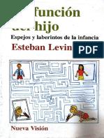 La Función Del Hijo-Esteban Levin