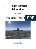IFly 744 Tutorial Addendum