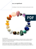 5 Piedras Energéticas y Su Significado