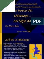 Ponencia Liderazgo Iutet Abril 2012