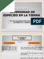 u 1 - Biosfera y Biodiversidad - Clases