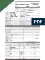 CSC FORM 212 Revised 2005 Personal Data Sheet TeacherPH.com