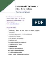TEORÍAS DEL GÉNERO2016-6