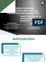 [2016.11.07] Disociación de Aminoácidos [PTI I]