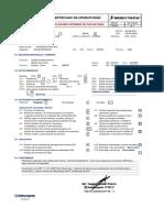Certificado de Operatividad de Instalaciones Internas de Bodytech Surco