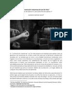 La Revolución Industriosa de Jan de Vries - Resumen - Humberto Martínez García (2017)