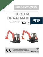 Handleiding KX61 3 KX71 3