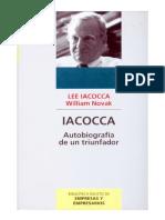 IACOCCA, Autobiografía de Un Triunfador - Lee Iacocca
