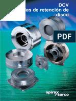 Válvulas de Retención de Disco DCV-Catálogos