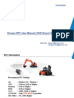 (Approved) Doosan EPC User Manual EXP