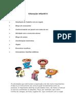 Educação Infantil Atividades2