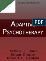 Adaptive Psychotherapy