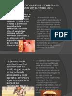 Los Problemas Nutricionales de Los Habitantes de Mexico