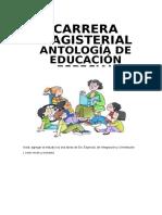 Antología de Educación Especial Cm