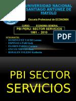 Pbi Sector Servicios