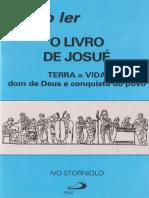Como ler o livro de Josué - Ivo Storniolo