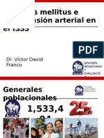 Diabetes Mellitus e Hipertension Arterial en El Isss