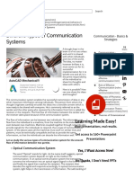 Different Types of Communication Systems