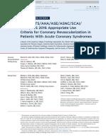 Criterios de Reperfusion en SCA