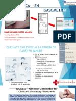 Preanalitica en Gasometria Arterial