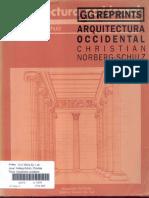 Arquitectura Occidental_Christian Norberg Schulz