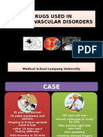 Drugs Used in Cerebrovascular Disorders-151010