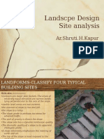 L-2 LANDSCAPE Site Analysis 29-07-16