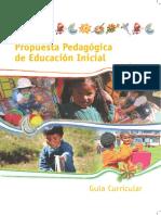 Propuesta Pedagogica de e.i.
