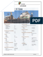 Vessels Specification Grand
