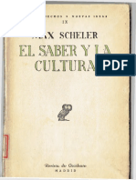 Scheler, Max - El saber y la cultura.pdf