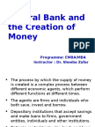 Central Bank & Creation of Money